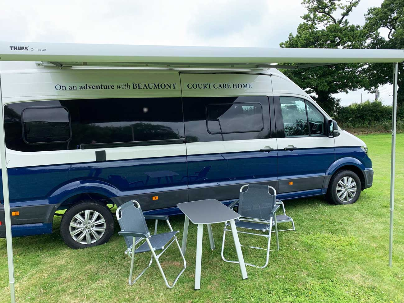 Open Campervan for Dementia Care (Side View)